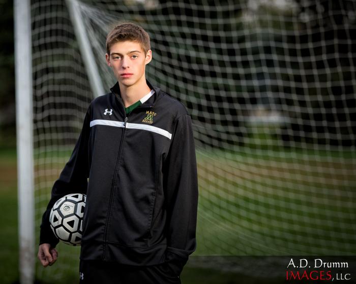 Baustin at Soccer Field