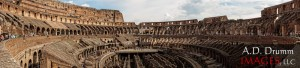 The Coliseo in Roma